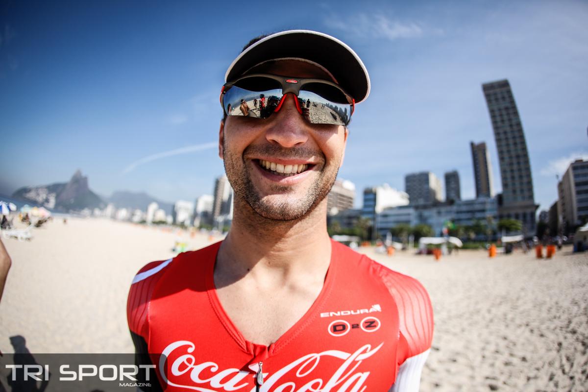 Guilherme Manocchio, 2º colocado no Ironman 70.3 Pucón. Foto: Rodrigo Eichler