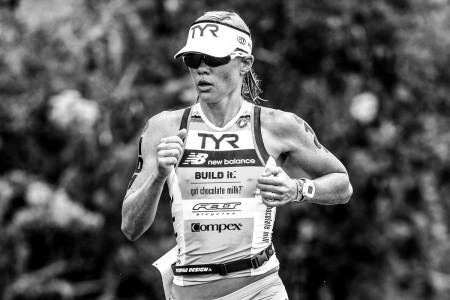 Mirinda Carfrae, tricampeã mundial. Foto: Delly Carr