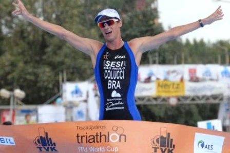 Reinaldo Colucci é uma das esperanças do Brasil no triathlon. Foto: itu media