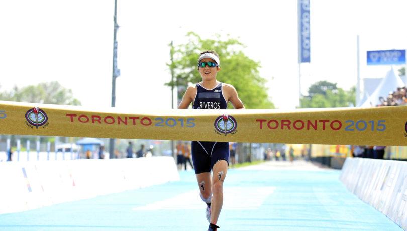 fotoWomen's Triathlon - Pan Am Games 2015     ©2015 Rich Cruse  ITU