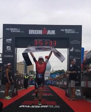 Tim Don, campeão da edição inaugural do Ironman 70.3 Equador