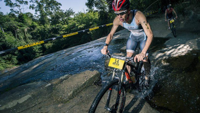 Felipe Moletta, campeão do Triathlon no XTERRA Ilhabela - Foto: Thiago Diz