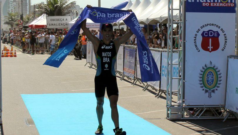 Wesley Matos, campeão do 30º Triathlon do Exército - Foto: Pauta Livre