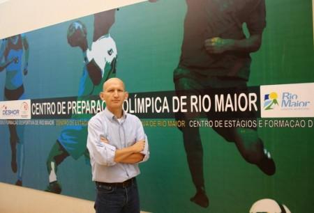 Sergio Santos, técnico da seleção brasileira de triathlon