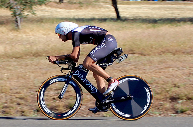 Jordan Rapp, vencedor do Ironman Mont-Tremblant 2015