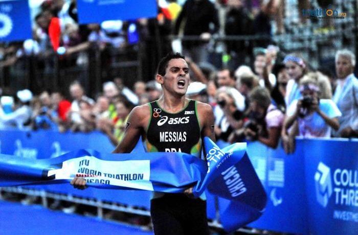 Manoel Messias, Campeão Mundial Júnior de triathlon - Foto: ITU Mídia