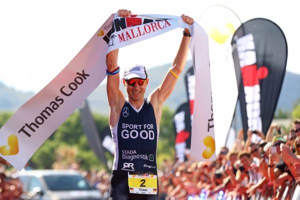 Timo Bracht, campeão do Ironman Mallorca - Foto: Ironman.com