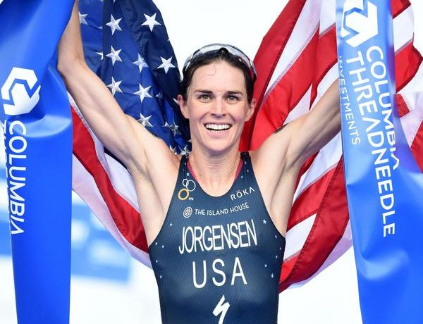 A americana Gwen Jorgensen - Foto: ITU Mídia