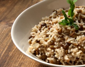 Simple-lentils-and-rice-300x237
