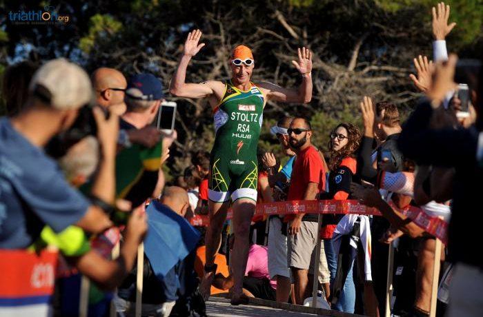 Conrad Stoltz, 16º colocado no Mundial, em seu ano de despedida como profissional. Foto: ITU Mídia