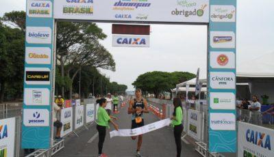 Paulo Maciel, campeão do Duoman Duathlon - Etapa Brasília. Foto: Divulgação Duoman Duathlon