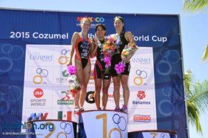ITU Cozumel World Cup Triathlon   October 4, 2015  ©2015 Rich Cruse  ITU