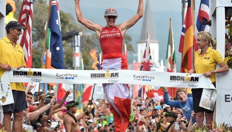 Daniela Ryf, campeã mundial de Ironman. Foto: Ironman.com