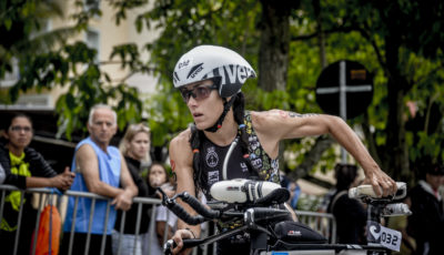 Furriela evoluindo no ciclismo. Foto: Talita Saab