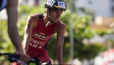 Iuri Vinuto, campeão do Circuito Nacional SESC Triathlon. Foto: Rômulo Cruz