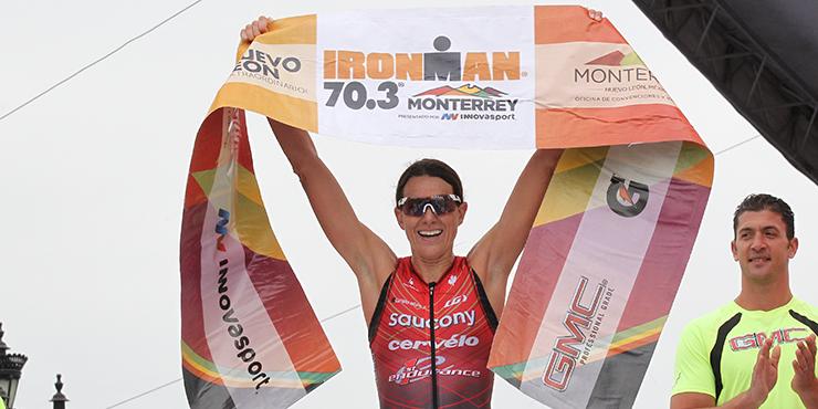 Heather Wurtele dominou no México. Foto: FinisherPix
