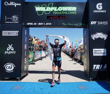 Jesse Thomas, 6x campeão do Wildflower Triathlon. Fotos: Kaori