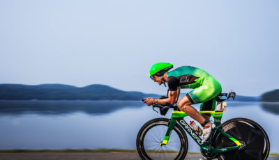 Lionel Sanders vence o Ironman 70.3 Mont-Tremblant