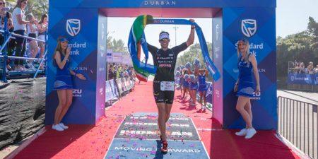 Matt Trautman, campeão do Ironman 70.3 Durban. Foto: Ironman.com