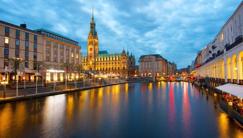 A cidade de Hamburgo será sede de mais um Ironman ano que vem.