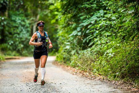 Vera Saporito, Embaixadora do XTERRA Brasil, a paulista guarda boas recordações da etapa Estrada Real. Em 2014, ela faturou os títulos do Ultrafinisher e do circuito 80km. Foto Xterra Divulgação