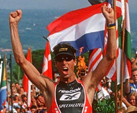 Peter Ried, tricampeão mundial de Ironman, será incluído no Hall da Fama do Ironman. Foto: Ironman.com