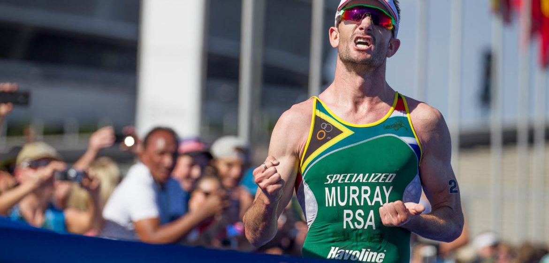 Winner Discovery Triathlon World Cup Cape Town Richard Murray