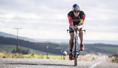 Braden Currie wins Taupo Ironman 2017 in Taupo, New Zealand on March 04, 2017