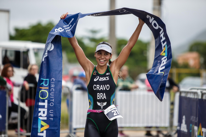 Circuito Uff Rio Triathlon : Colucci e bia neres vencem a ª etapa do circuito uff rio